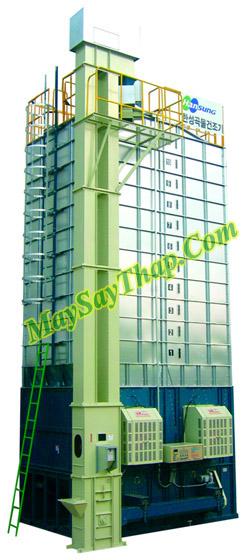 Máy sấy tháp 30 tấn nhập khẩu từ Hàn Quốc